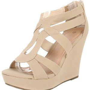 Lindy-3 Platform Sandals by Top Moda
